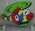 Helikoptéta Dekorace na zeď